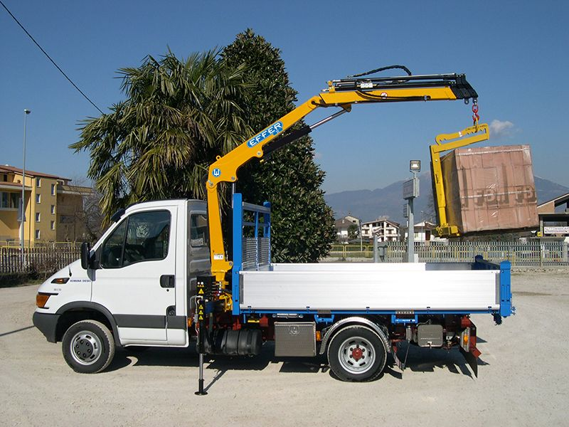 Crane For Construction Precast Crane Effer Truck Cranes