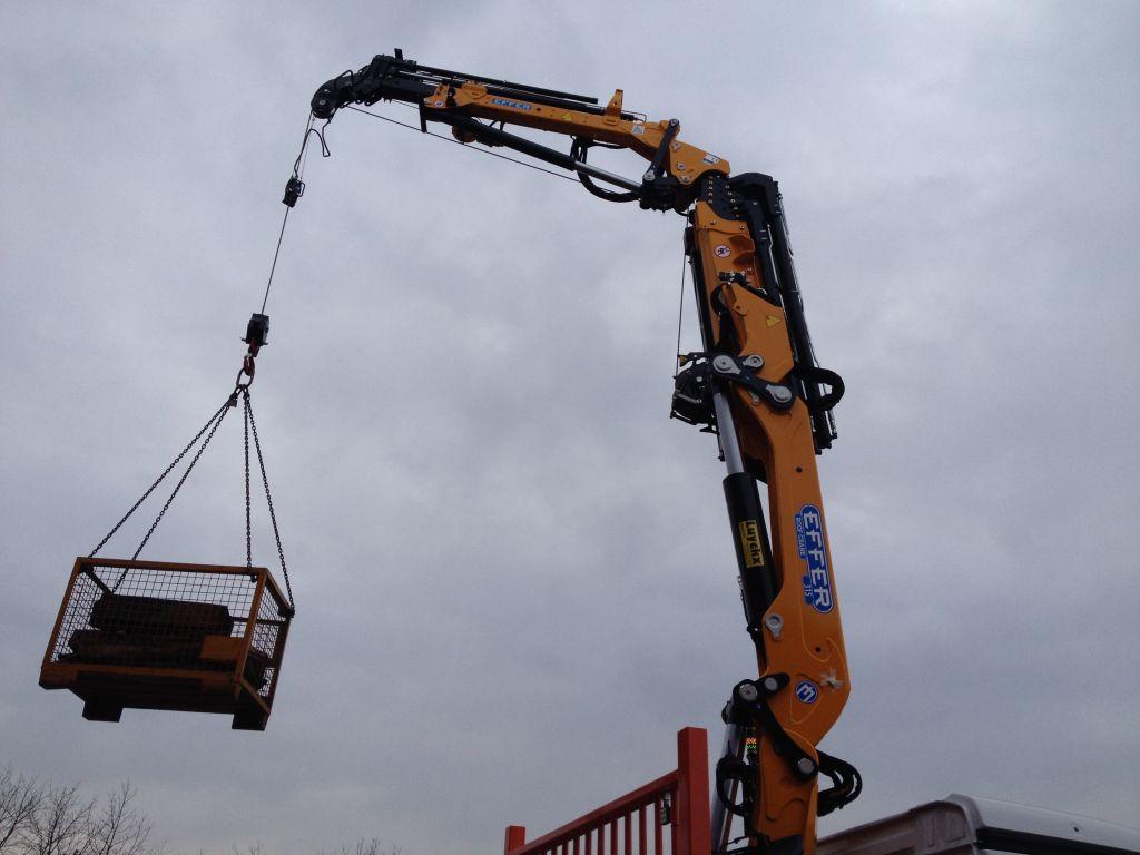 Jib Pole Crane : Jib crane telescopic effer truck cranes