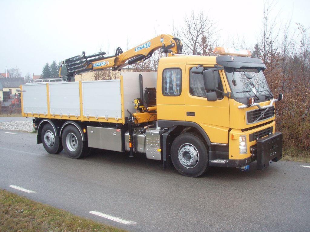 145 su Volvo VC trucks in Sweden