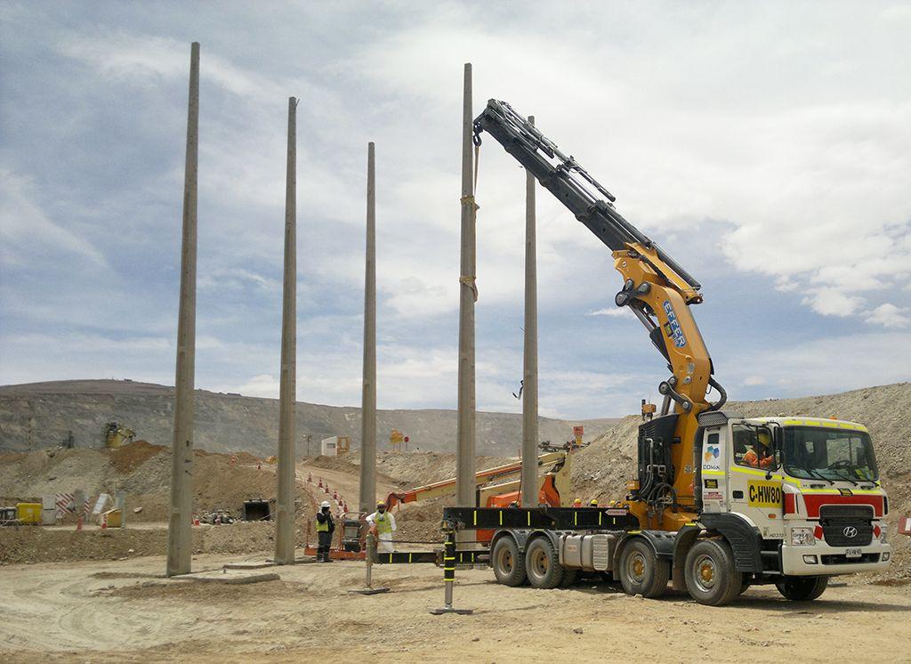 Desmontajes e posted 20 metros (enterrados a 5 metros ) 1700 kilos.